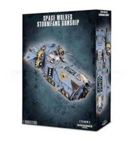 Warhammer 40K Space Wolves Stormfang Gunship/Stormwolf Assault Craft