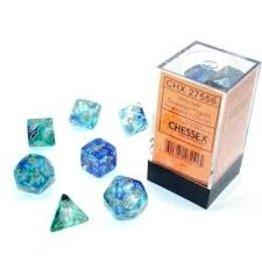 Chessex 7-setCube Luminary NB Oceanic gd
