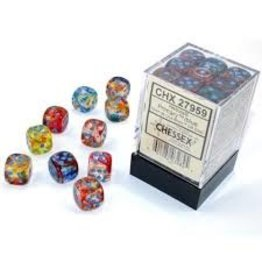 Chessex d6Cube 16mm Luminary NB Primary tq (12)