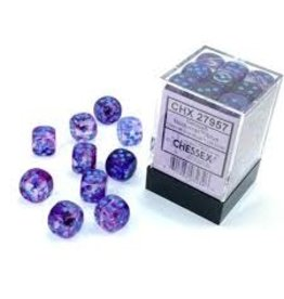 Chessex d6Cube 12mm Luminary NB Nocturnal bu(36)