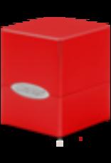 Ultra Pro Deck Box-Satin Cube Red