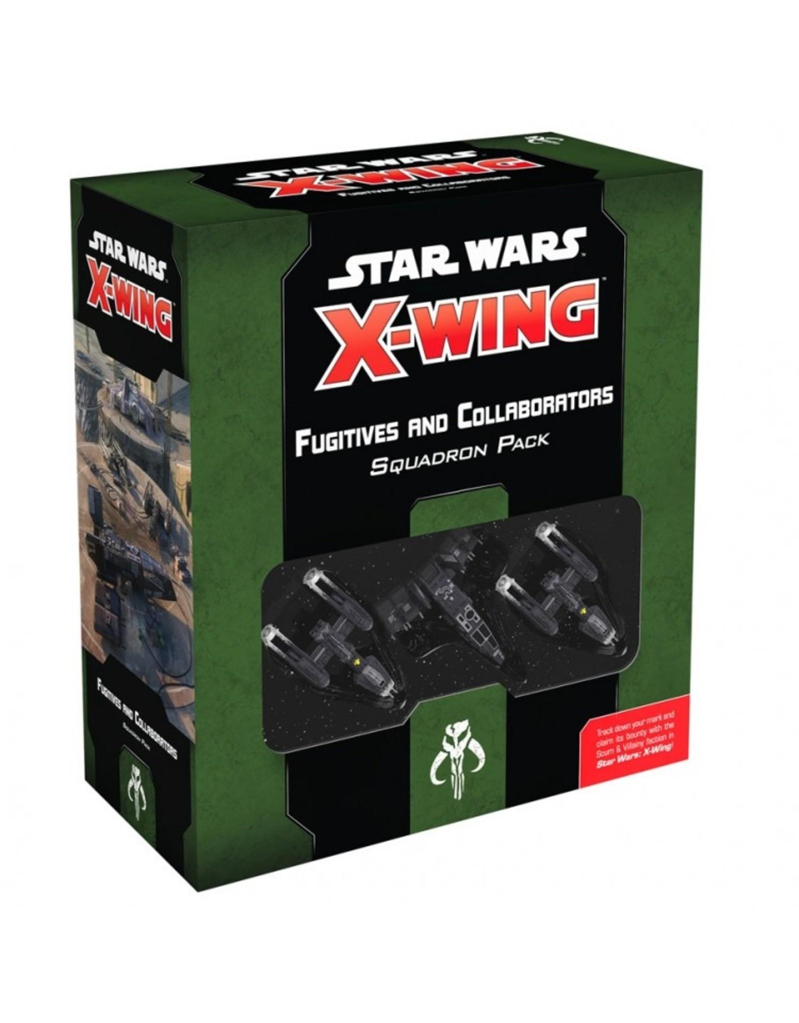 Atomic Mass Games Star Wars X-Wing 2E: Fugitives & Collaborators