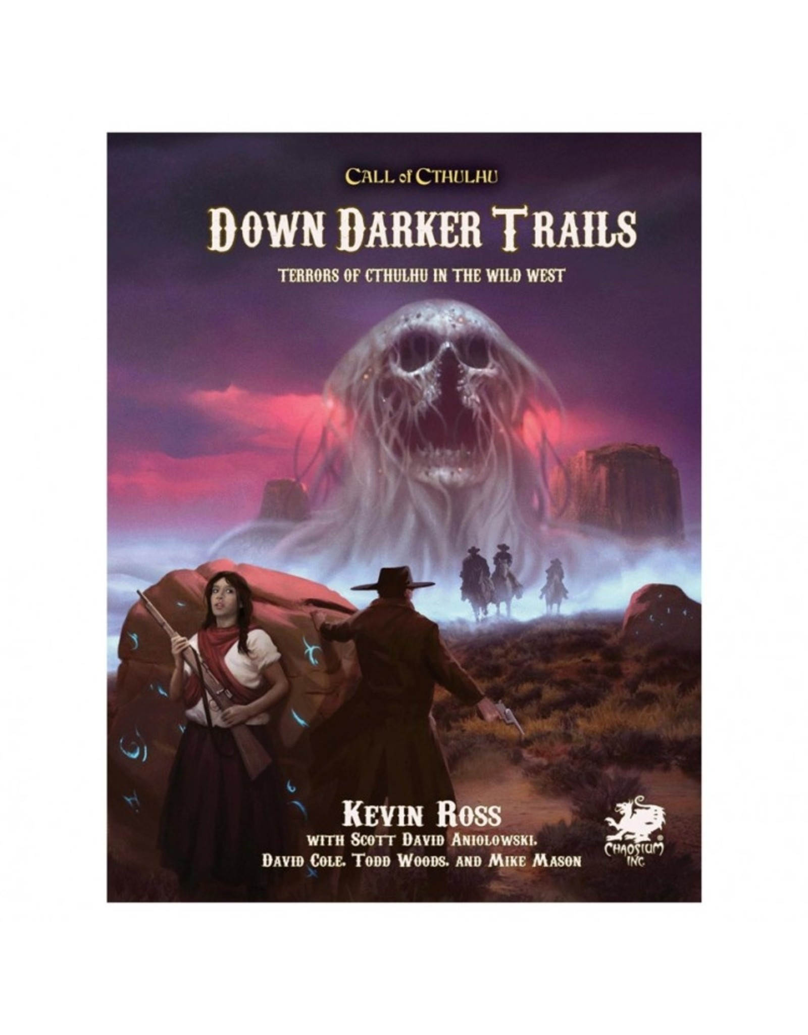Chaosium Call of Cthulhu: 7E: Down Darker Trails - Terrors of Cthulhu in the Wild West
