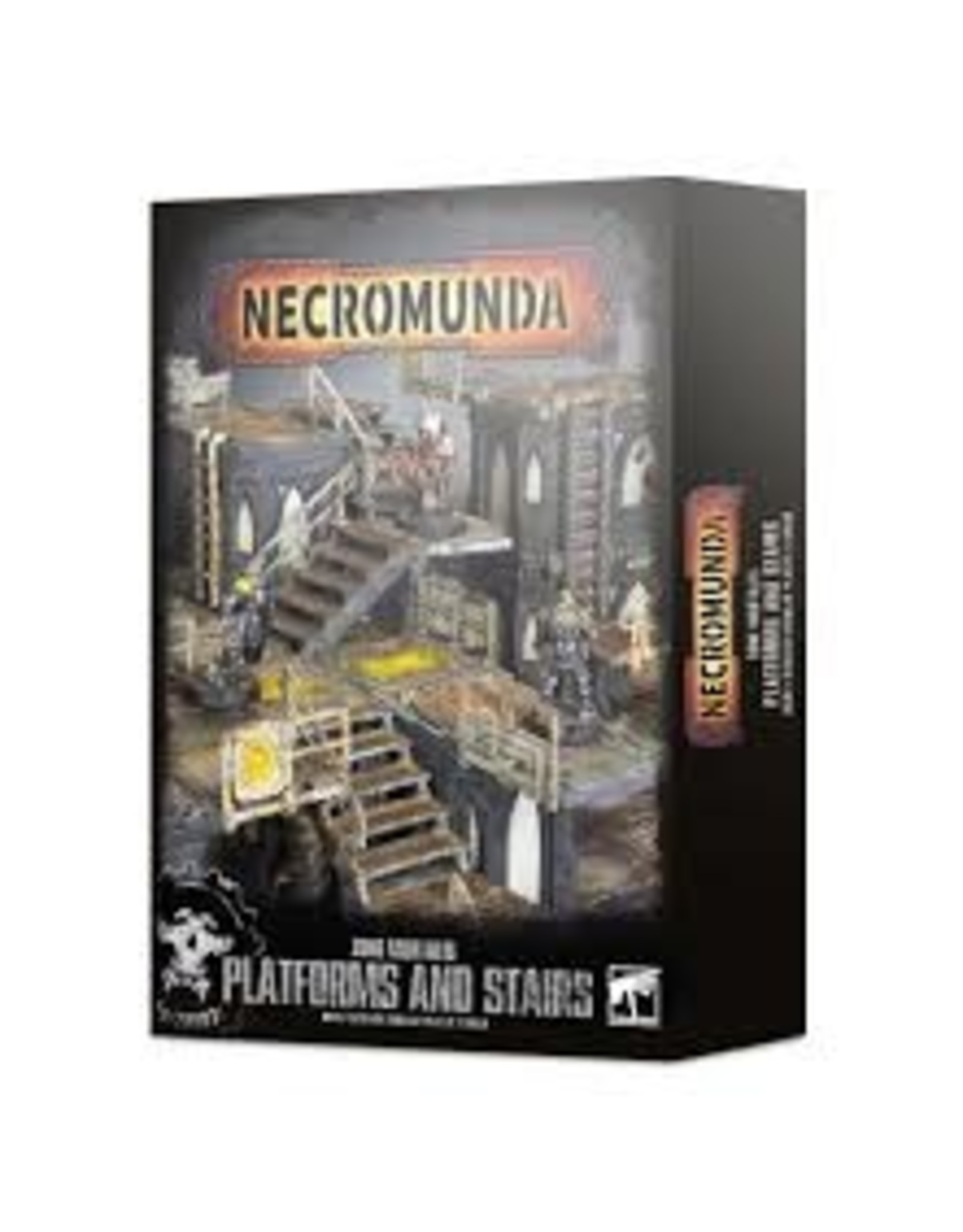Necromunda Zone Mortalis: Platforms & Stairs