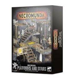 Necromunda Zone Mortalis: Platforms & Stairs