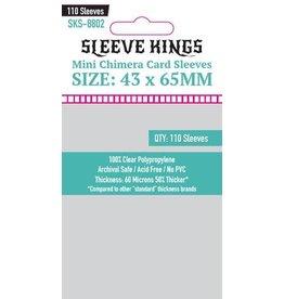 Sleeve Kings Sleeve Kings Mini Chimera Card Sleeves (43x65mm) - 110 Pack