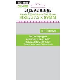 Sleeve Kings Sleeve Kings Standard USA Chimera Card Sleeves (57.5x89mm) - 110 Pack
