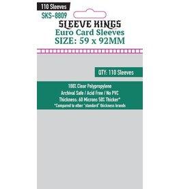Sleeve Kings Sleeve Kings Euro Card Sleeves (59x92mm) - 110 Pack