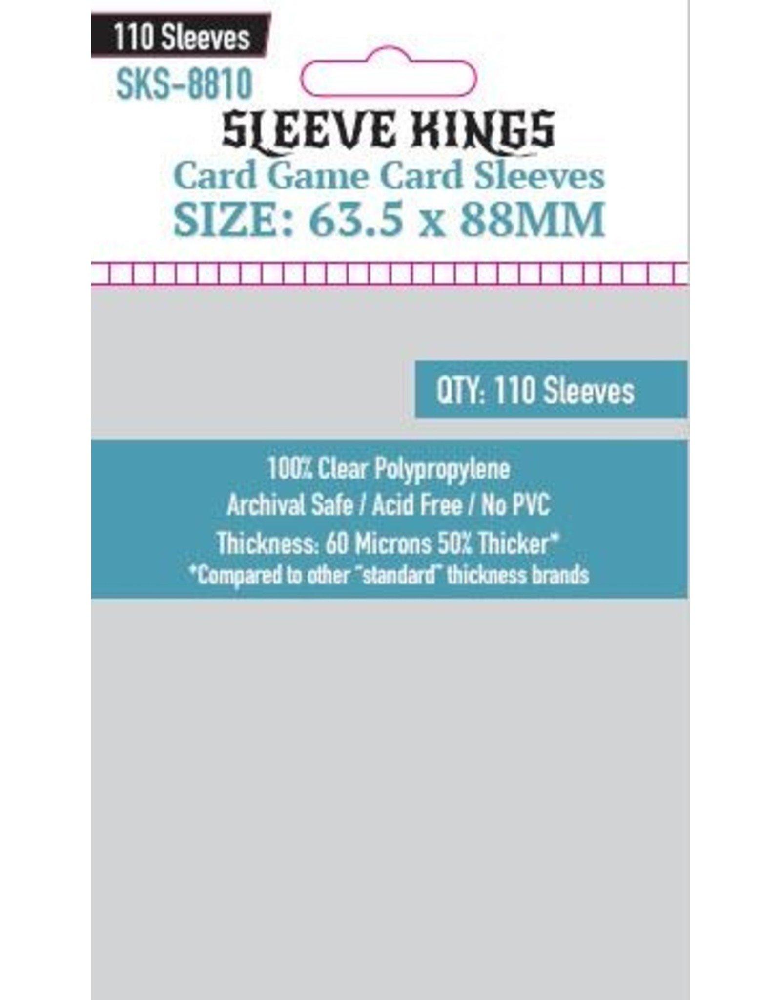 Sleeve Kings Sleeve Kings Card Game Card Sleeves (63.5x88mm) - 110 Pack