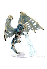 Wiz Kids D&D Icons of the Realms: Set 18 Boneyard Premium - Blue Dracolich