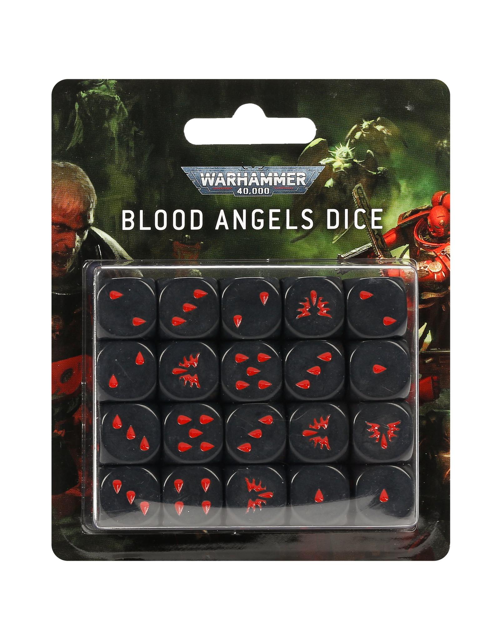 Warhammer 40K Blood Angels Dice Set