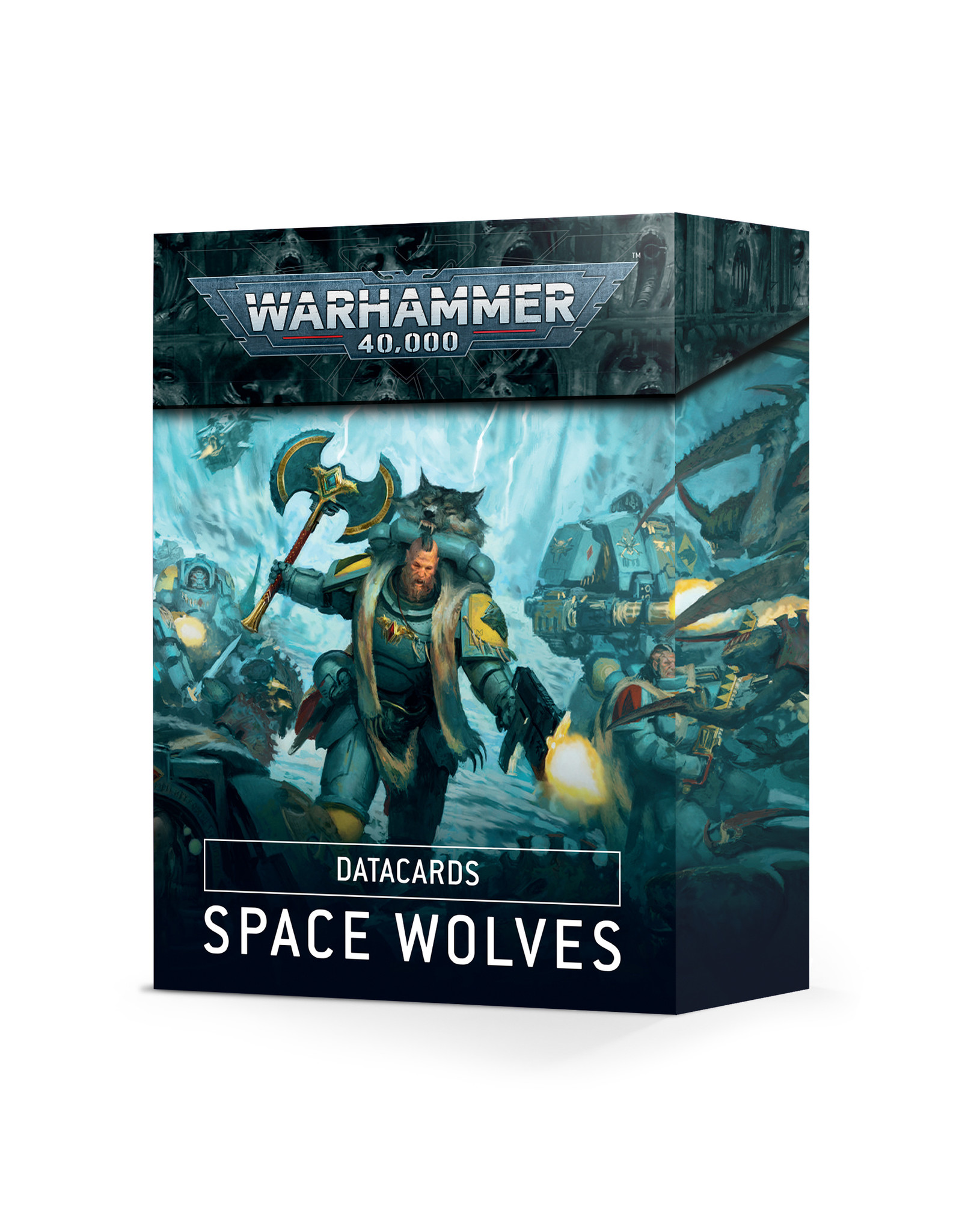 Warhammer 40K Datacards: Space Wolves
