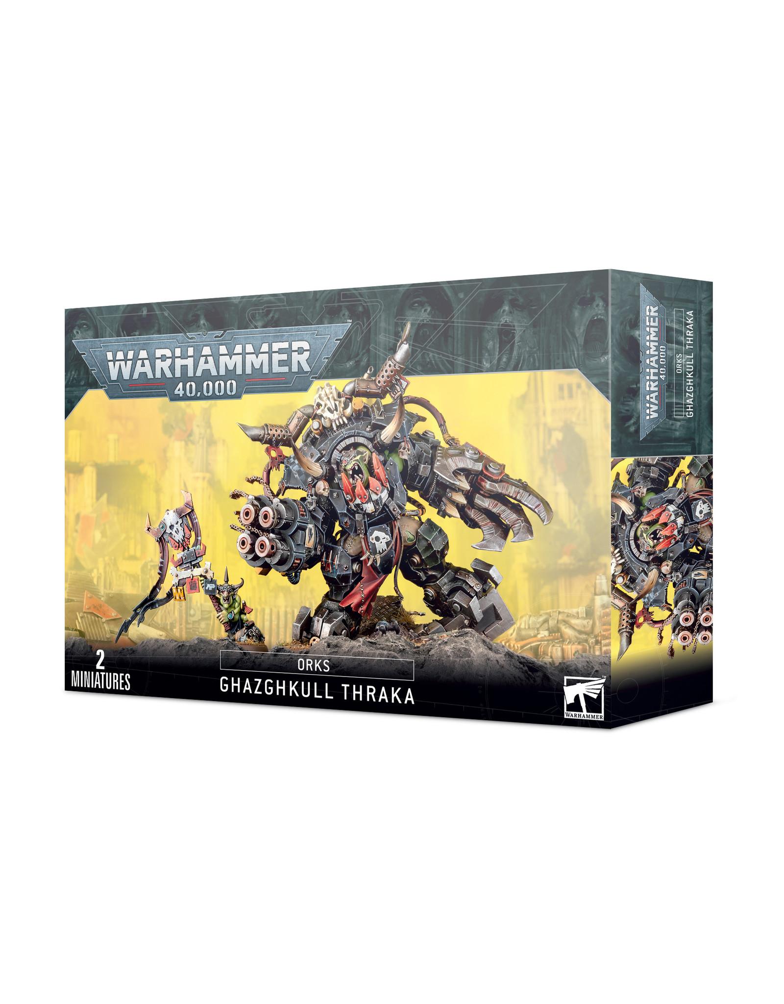 Warhammer 40K Orks: Ghazghkull Thraka