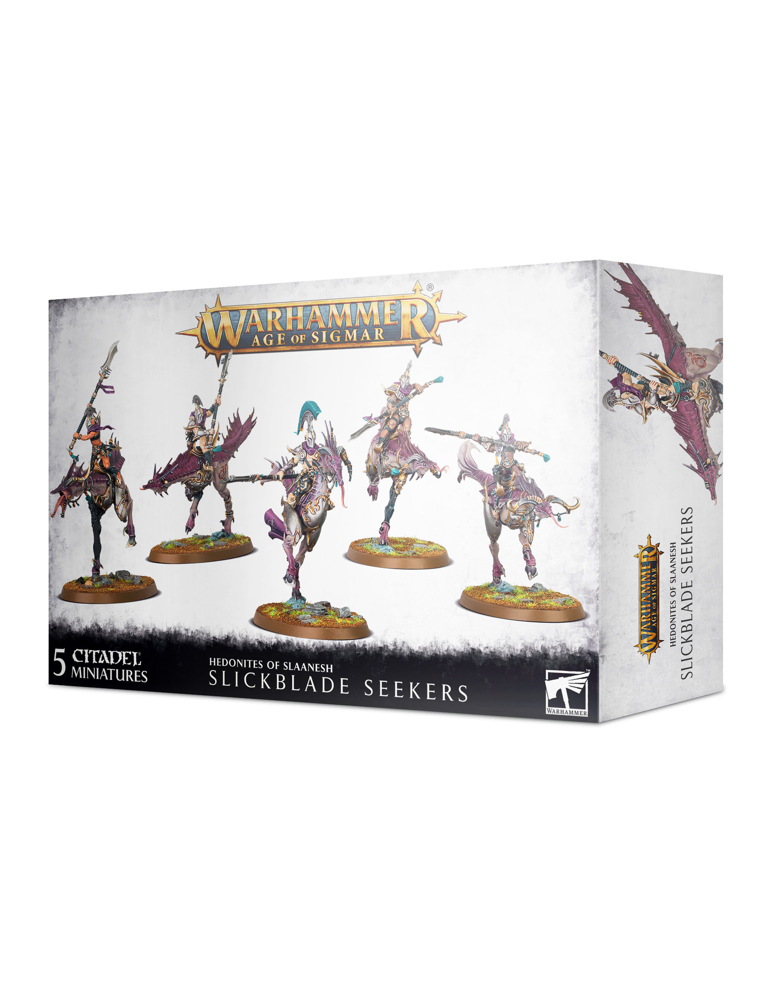 Age of Sigmar Hedonites Of Slaanesh: Slickblade Seekers