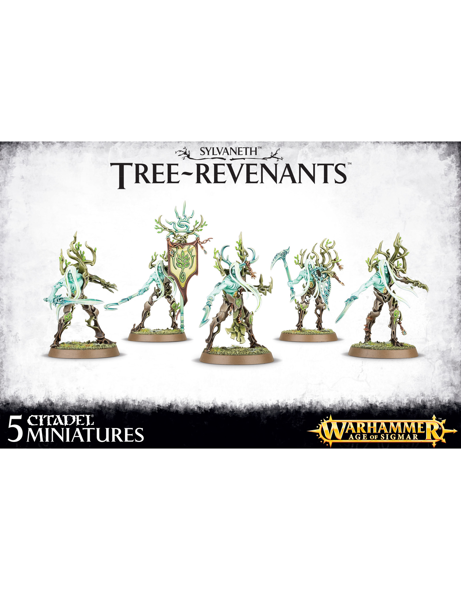 Age of Sigmar Sylvaneth Tree-Revenants