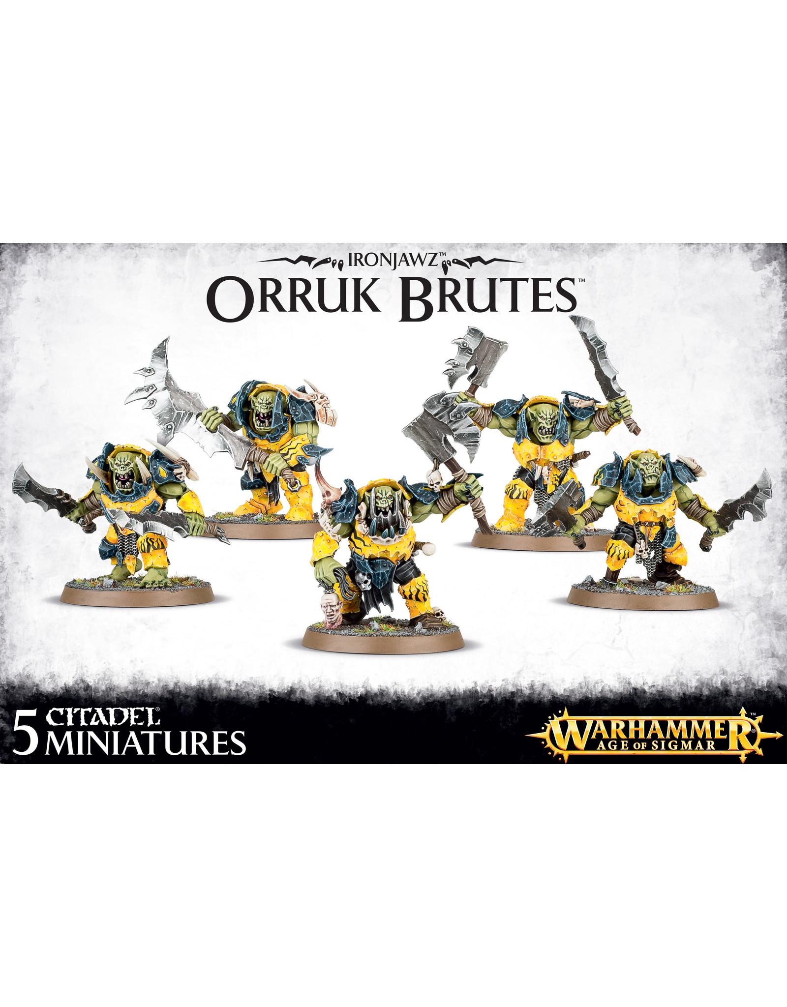 Age of Sigmar Ironjawz Orruk Brutes