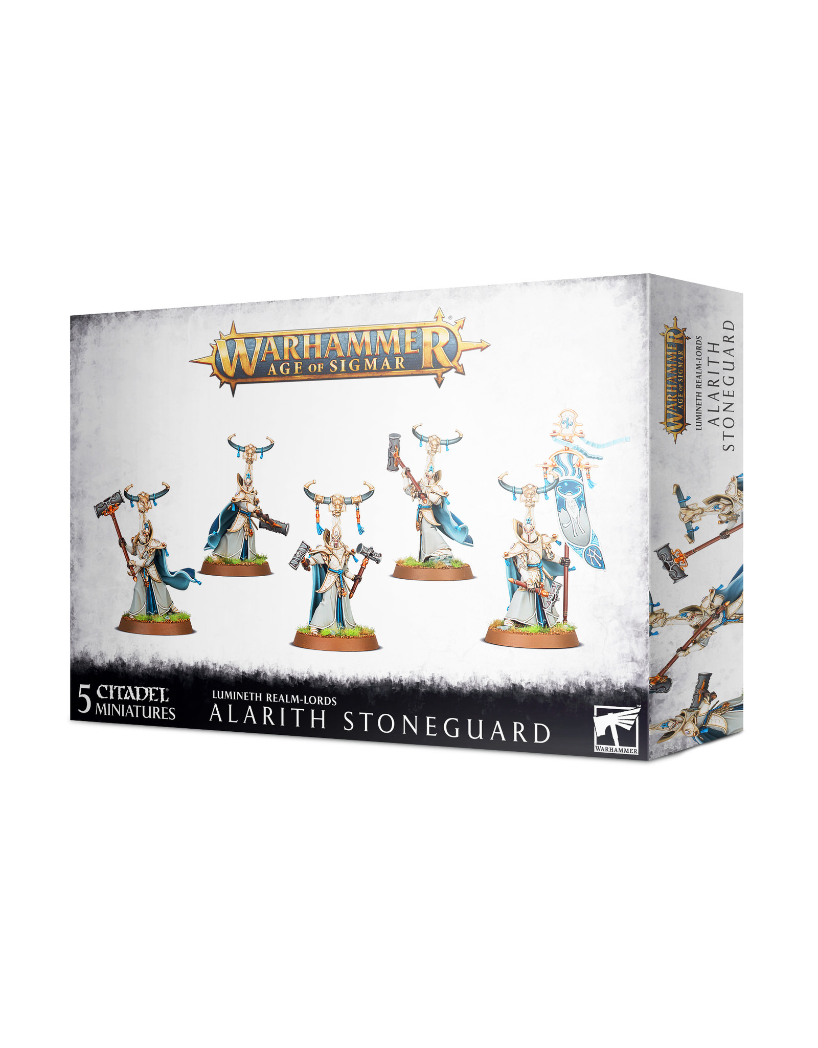 Age of Sigmar Lumineth Realm-Lords: Alarith Stoneguard