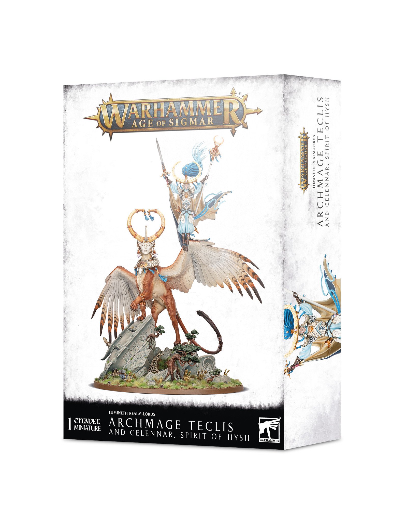 Age of Sigmar Lumineth Realm-Lords: Archmage Teclis