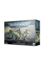 Warhammer 40K Necrons Ophydian Destroyers