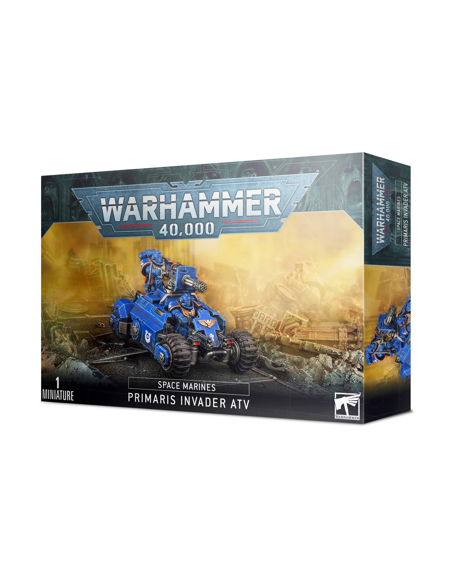 Warhammer 40K Space Marine Primaris Invader ATV