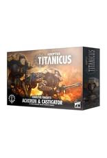 Warhammer 40K Adeptus Titanicus Cerastus Knights Acheron & Castigator