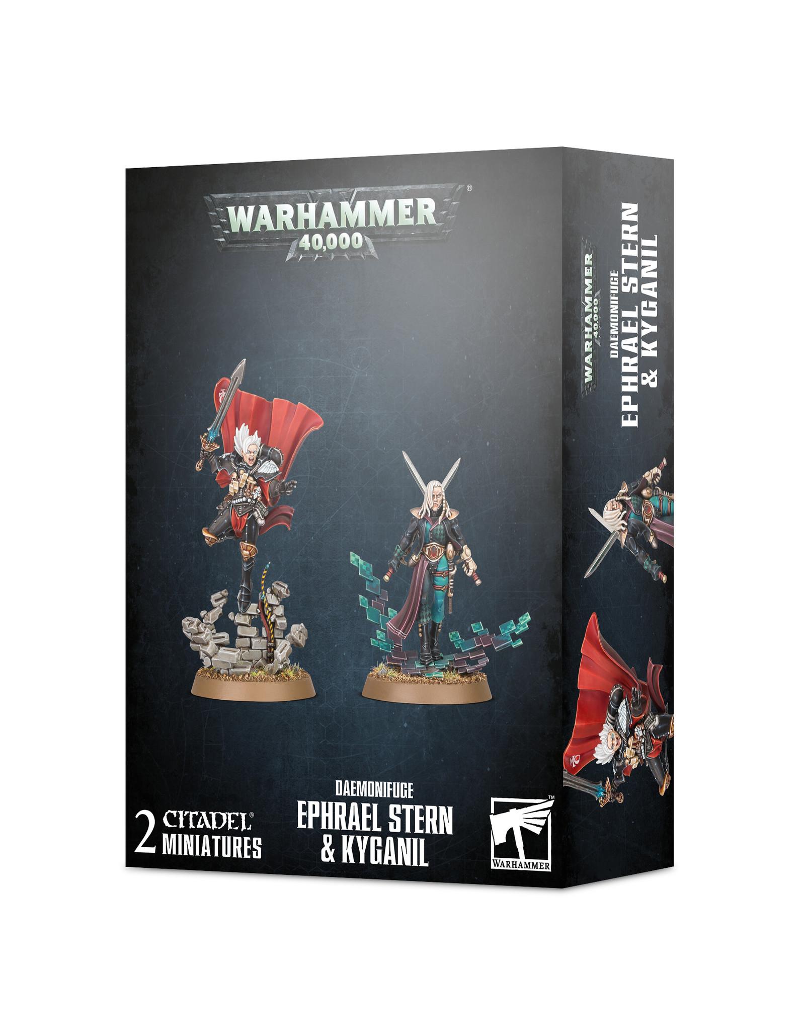 Warhammer 40K Daemonifuge Ephrael Stern & Kyganil