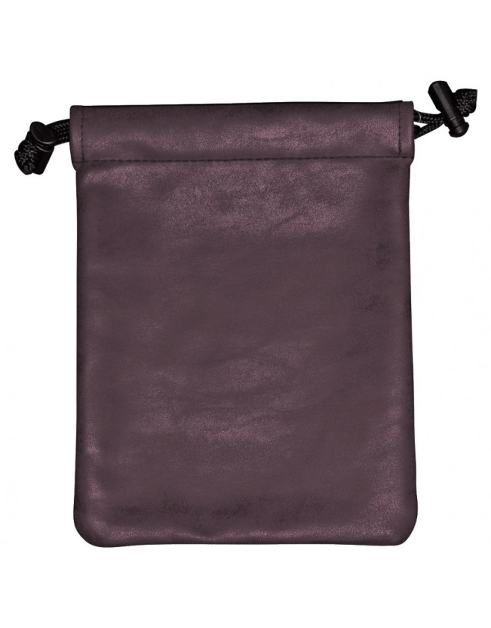 Ultra Pro Dice Bag: Suede: Treasure Nest: Amethyst