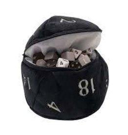 Ultra Pro Dice Bag: d20 Plush: BK