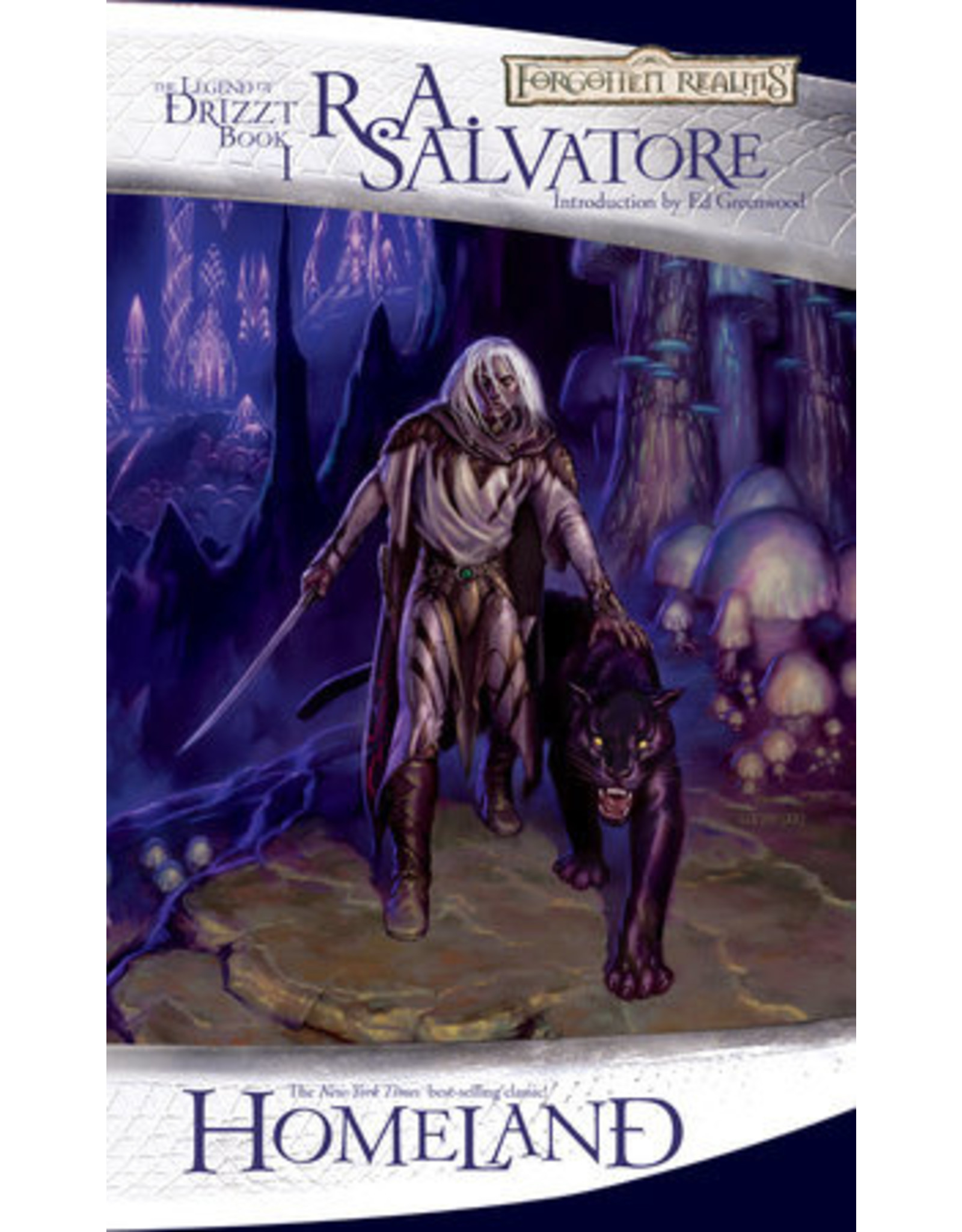Wizards of the Coast Homeland By R.A. Salvatore