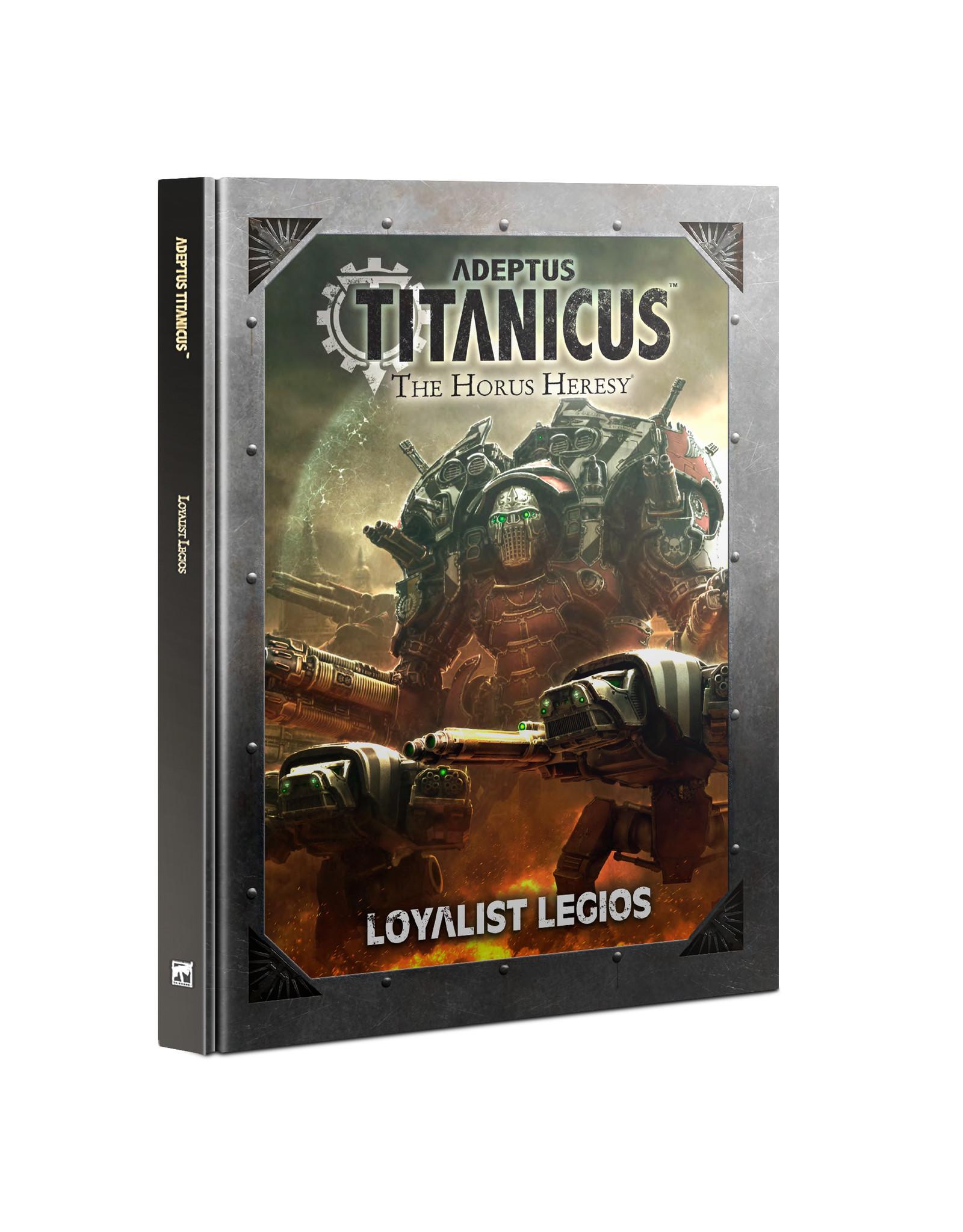 Warhammer 40K Adeptus Titanicus: Loyalist Legios