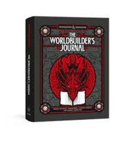 Random House Dungeons & Dragons: The Worldbuilder's Journal of Legendary Adventures