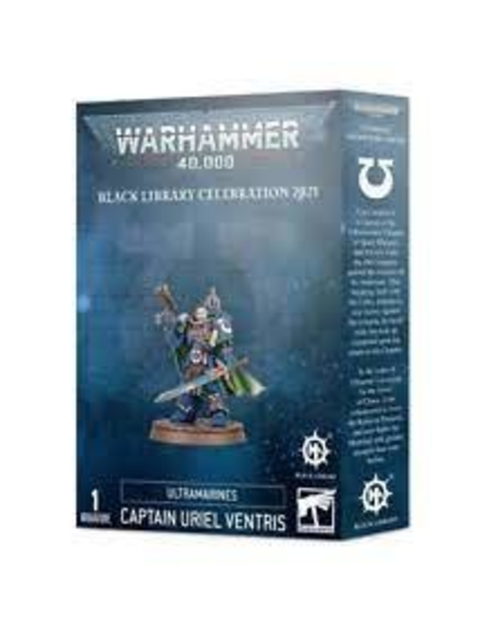 Warhammer 40K Ultramarines Captain Uriel Ventris