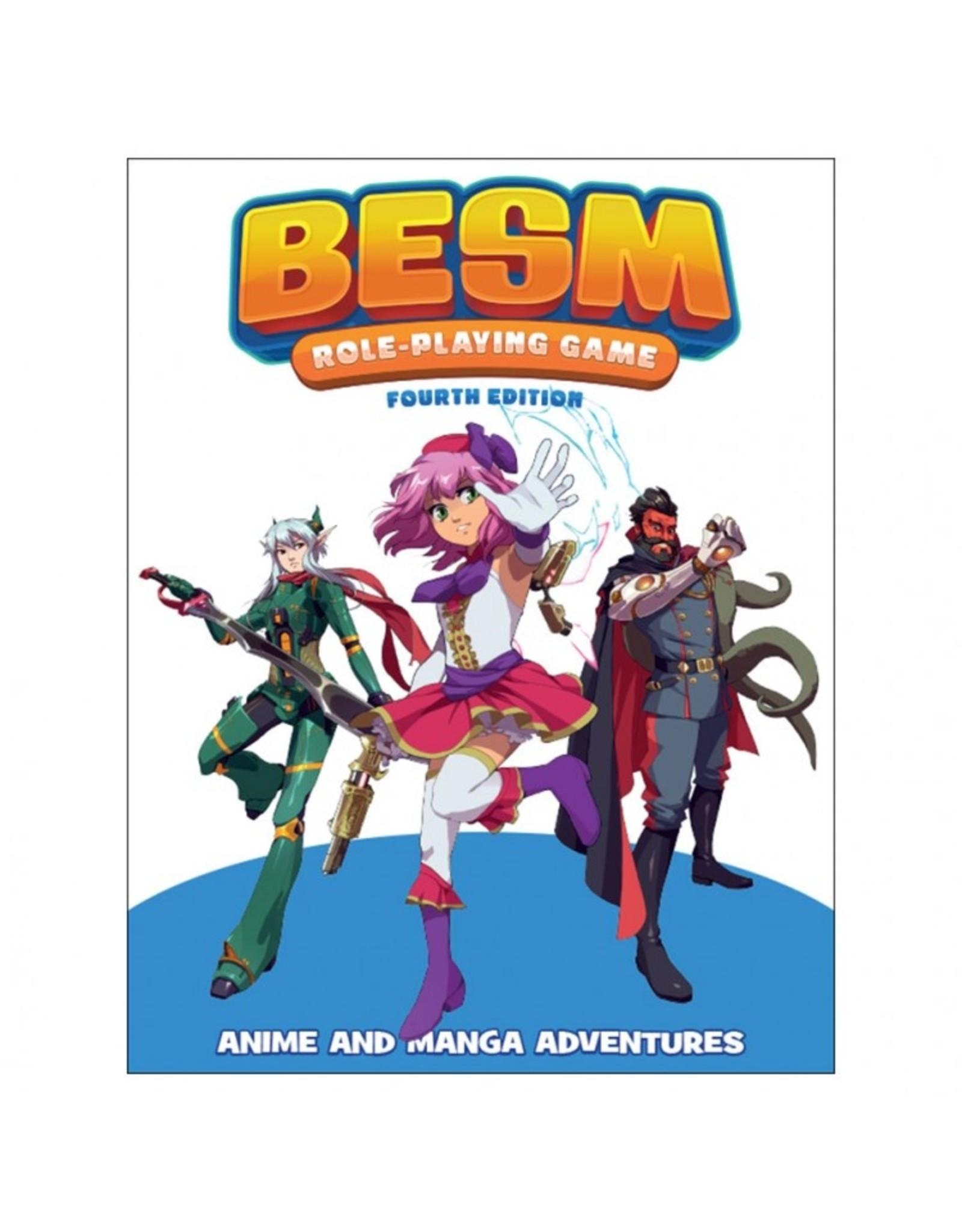 Japanime Games BESM Core Rulebook