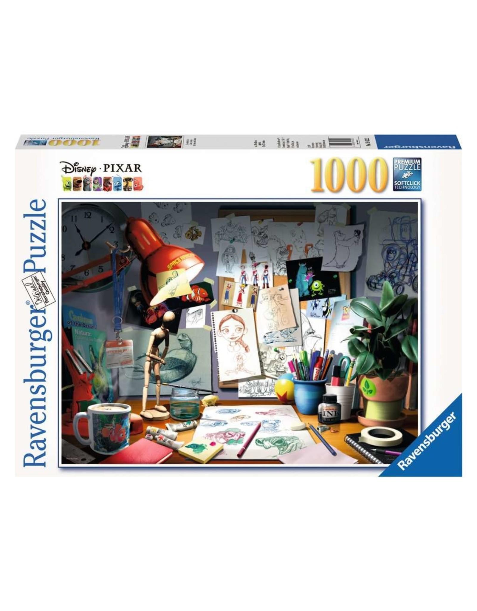 Ravensburger The Artist's Desk (1000 pc Puzzle)