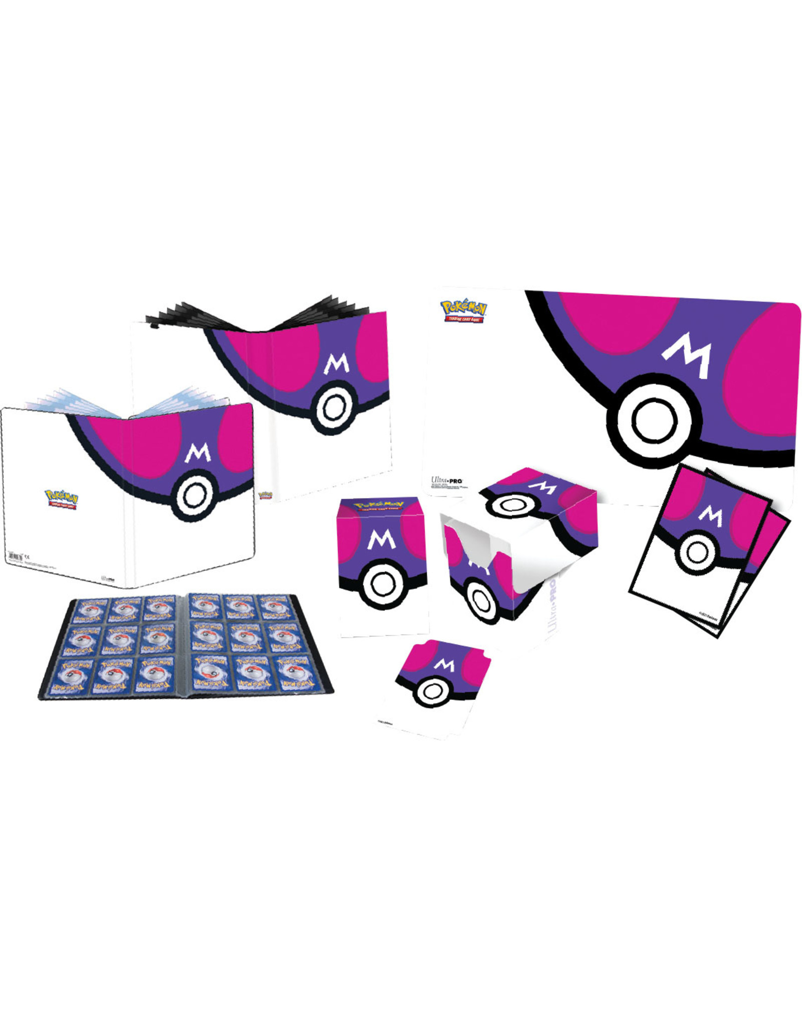 Ultra Pro Pokemon: Master Ball Full View Deck Box
