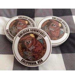 "Owlbear Adventures Sticker (3"" Circle)"