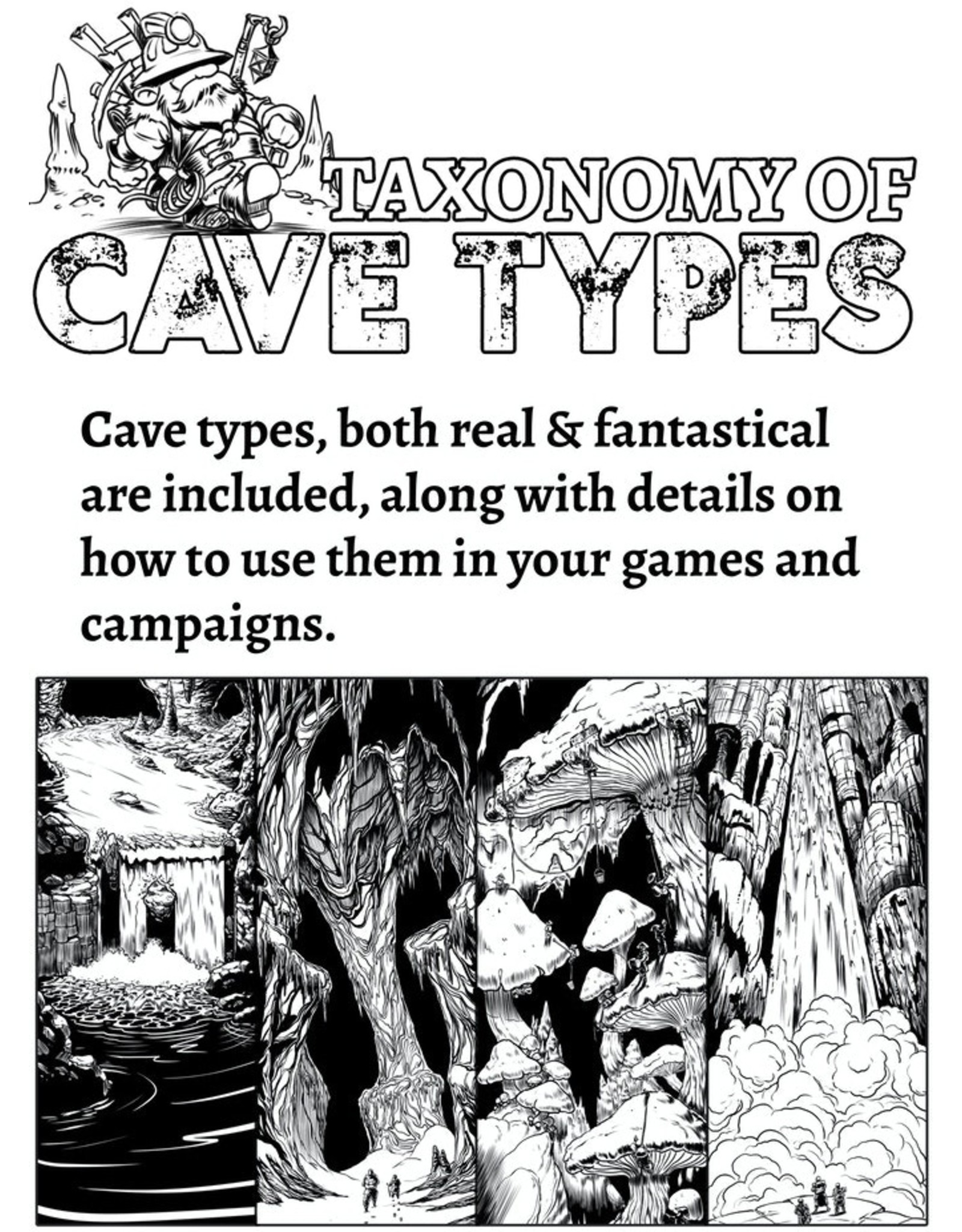 D&D 5E: Survivalist's Guide to Spelunking  (Pre Order) (July)