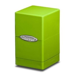 Ultra Pro Satin Tower DB Lime Green