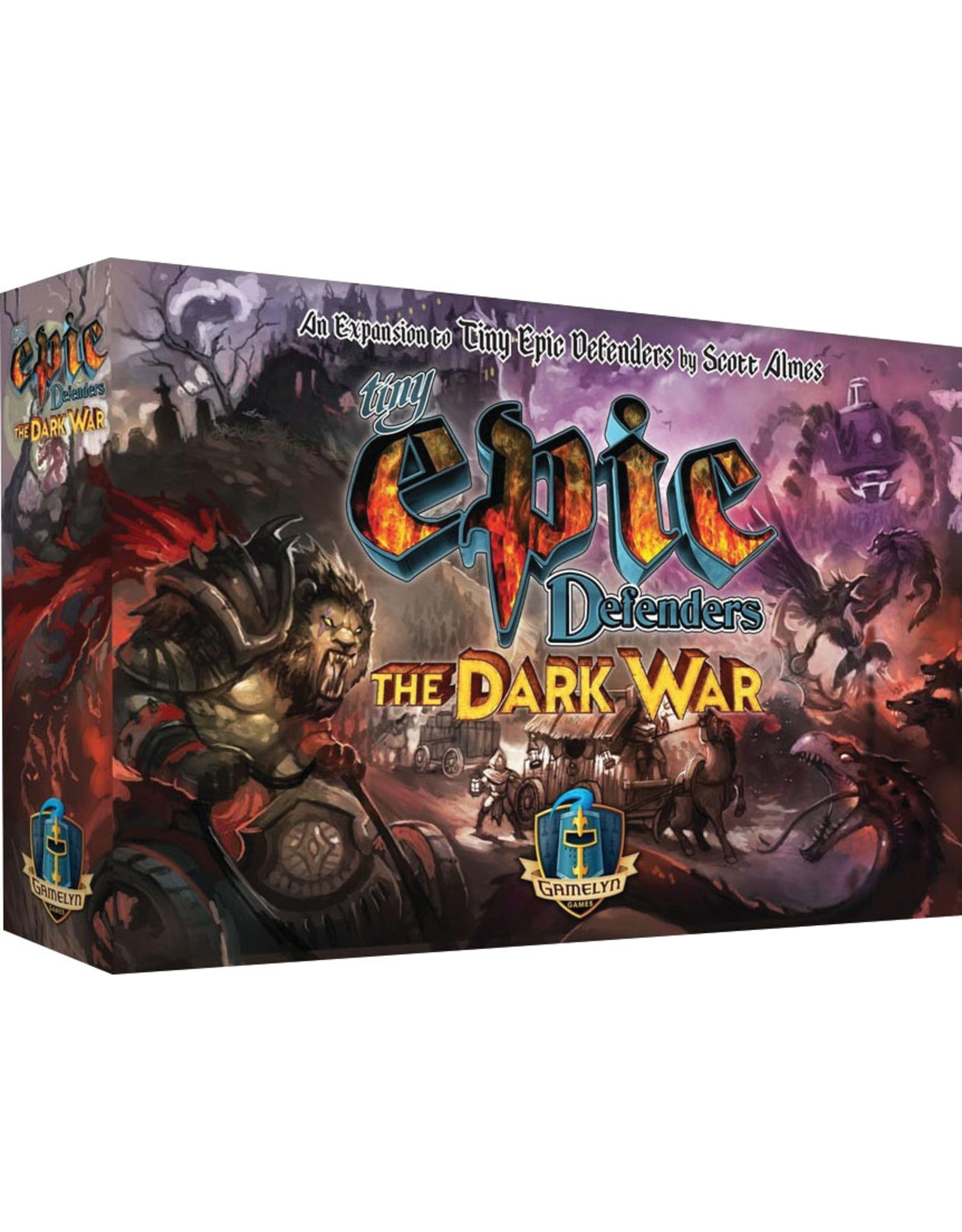 Gamelyn Games Tiny Epic Defenders: The Dark War Expansion