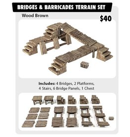 Monster Fight Club Terrain: Bridges & Barricades