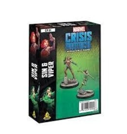 Atomic Mass Games Marvel: Crisis Protocol: Sin and Viper