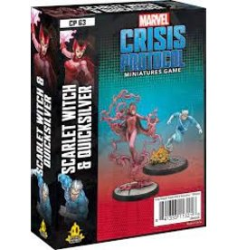 Atomic Mass Games Marvel: Crisis Protocol: Scarlet Witch & Quicksilver