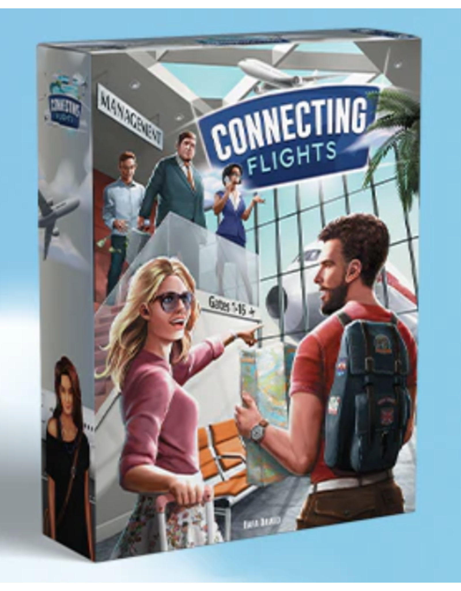 Connecting Flights: An Airline Management Board Game (Kickstarter, January)