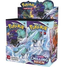 Pokemon Pokemon: Sword and Shield 6: Chilling Reign Booster Display (Pre Order) (Local Pickup Only)