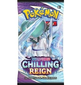Pokemon Pokemon: Sword and Shield 6: Chilling Reign Booster Pack