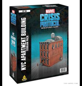 Atomic Mass Games Marvel Crisis Protocol: NYC Apartment Building Terrain
