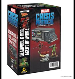 Atomic Mass Games Marvel Crisis Protocol: Deadpool & Bob, Agent of Hydra