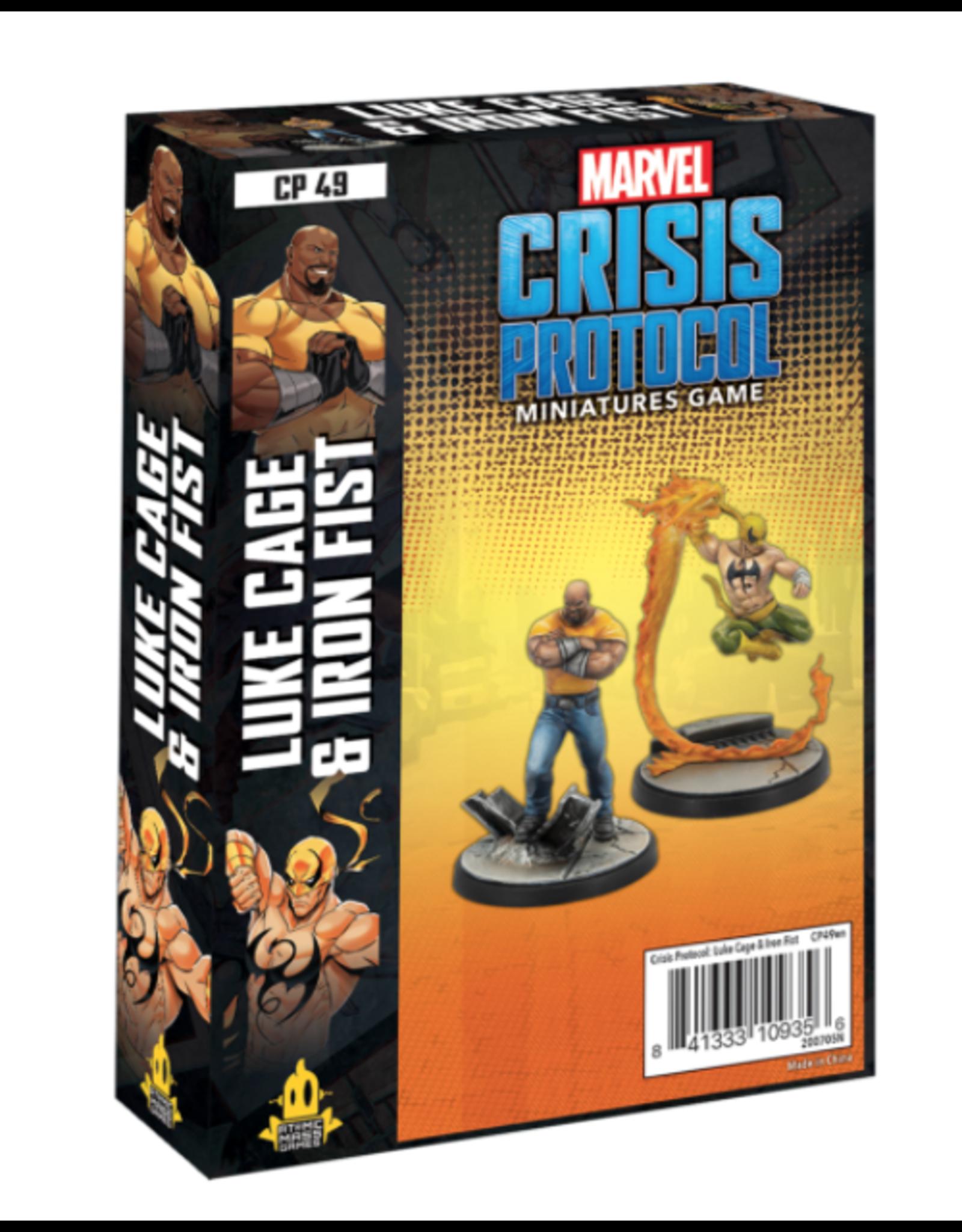 Atomic Mass Games Marvel Crisis Protocol: Luke Cage and Iron Fist