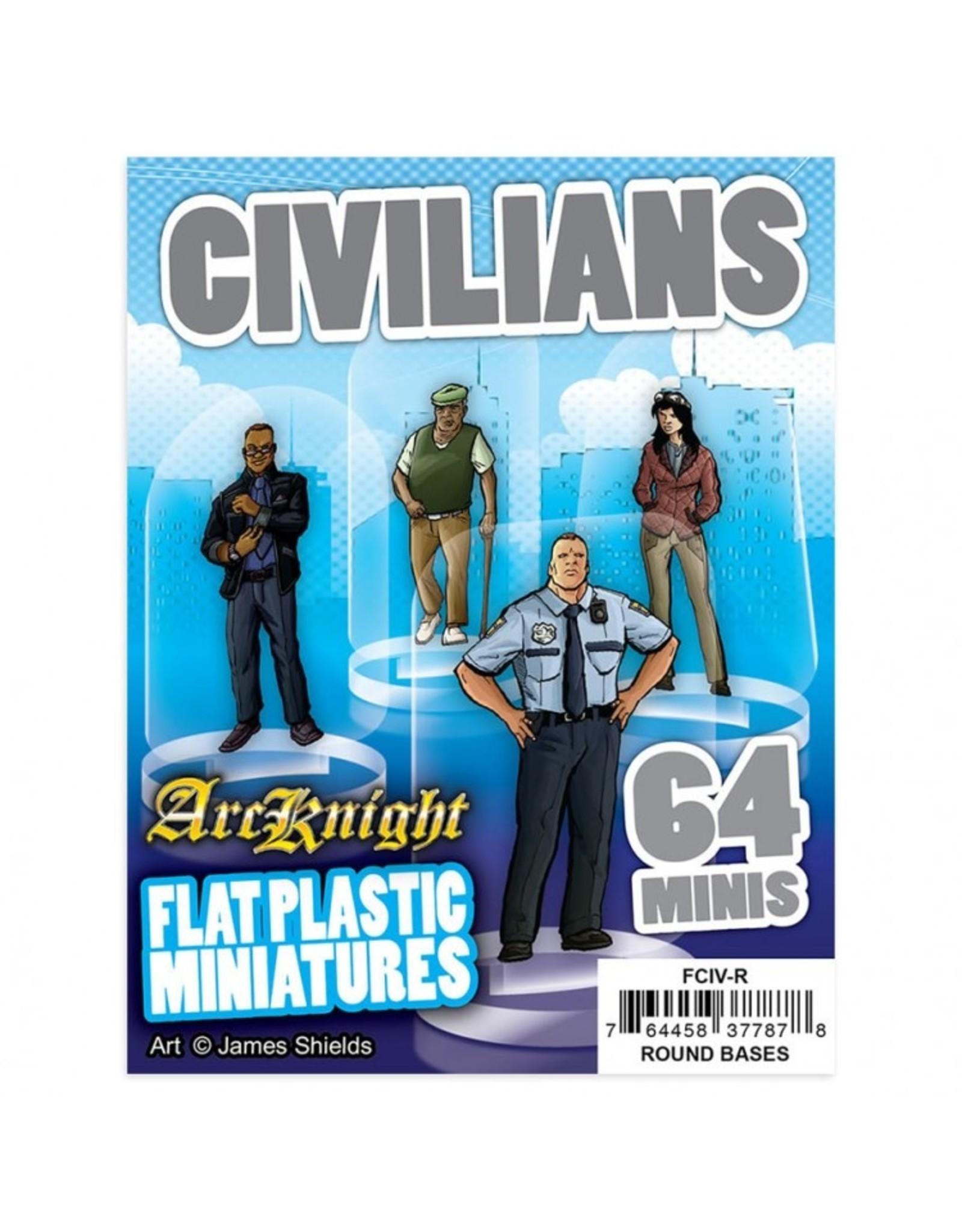 Arcknight Flat Plastic Minis: Civilians