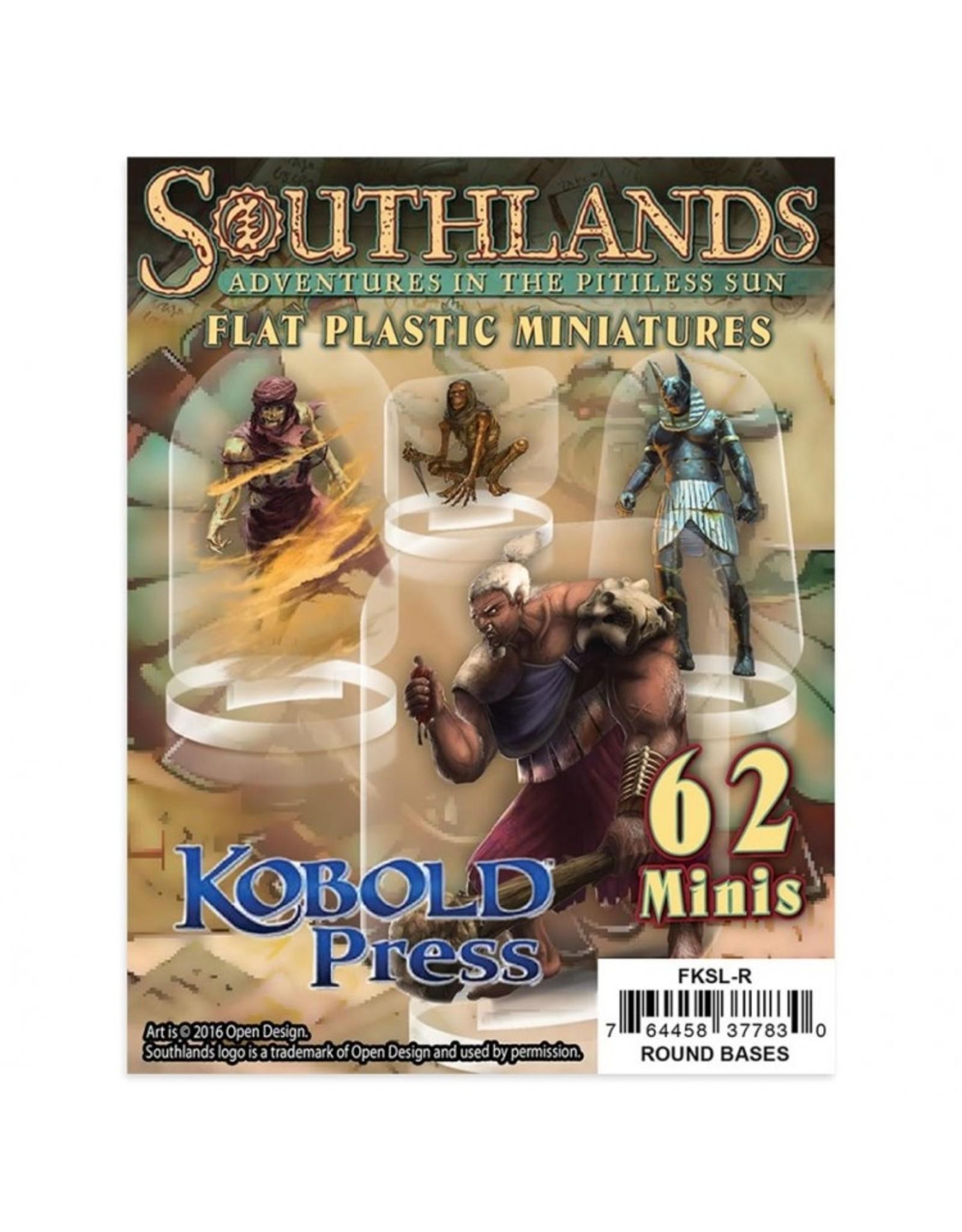 Arcknight Flat Plastic Miniatures: Southlands